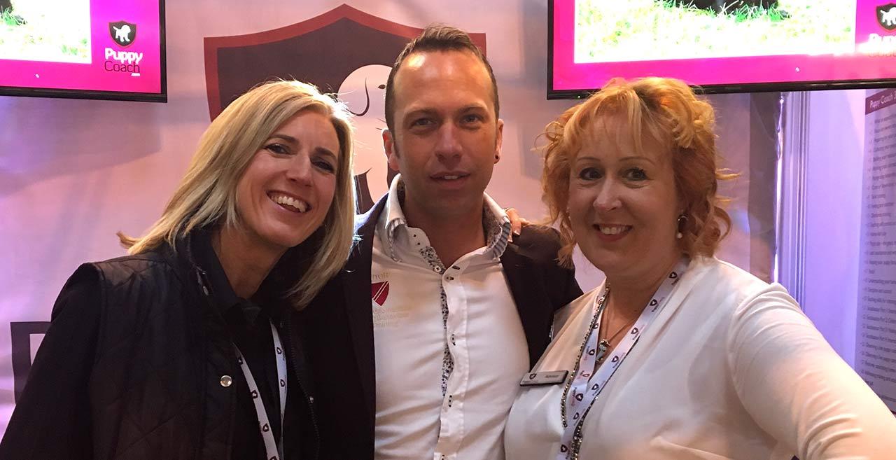 Jo with Ross & Vicky