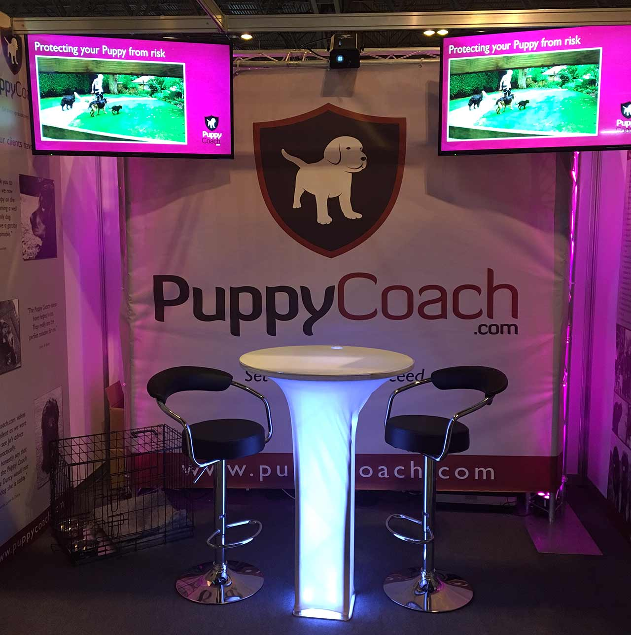 PuppyCoach.com stand at Crufts 2017
