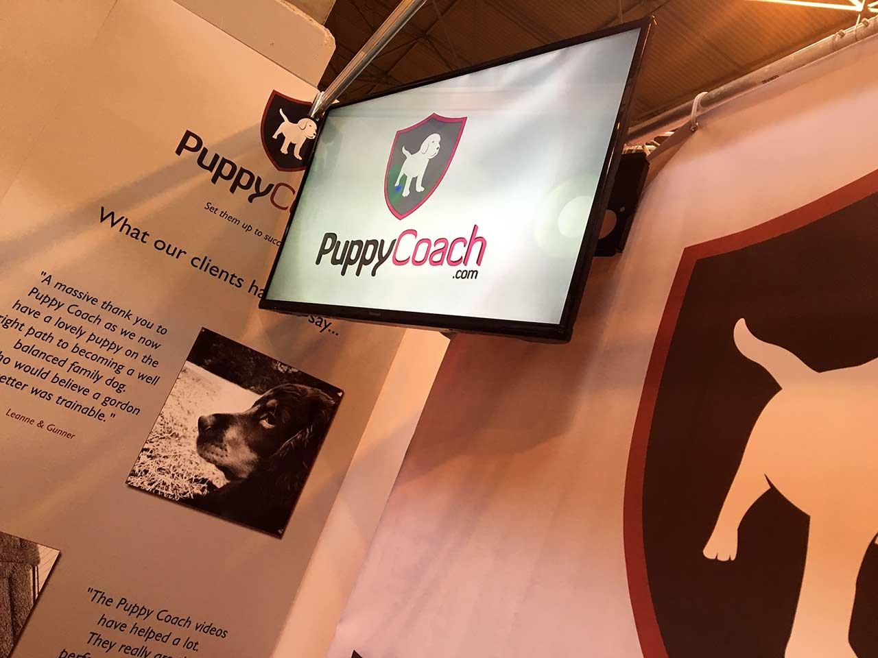 PuppyCoach.com screen